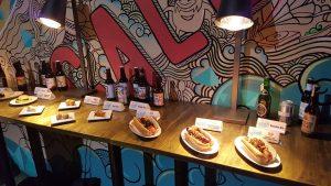 Ovtober Fiesta Launch nourriture et bière
